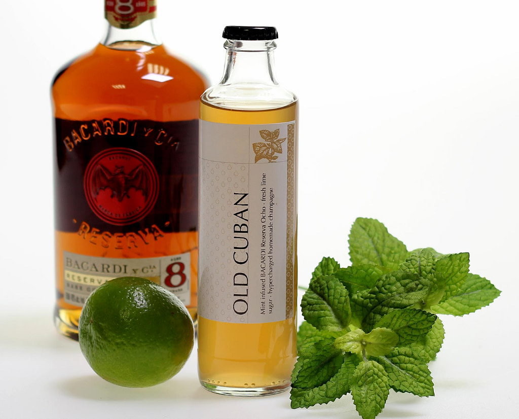 Old Cuban Cocktail als Ready To Drink 0,25l