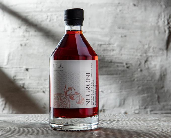 Bottled Negroni trinkfertig mit Premium Zutaten