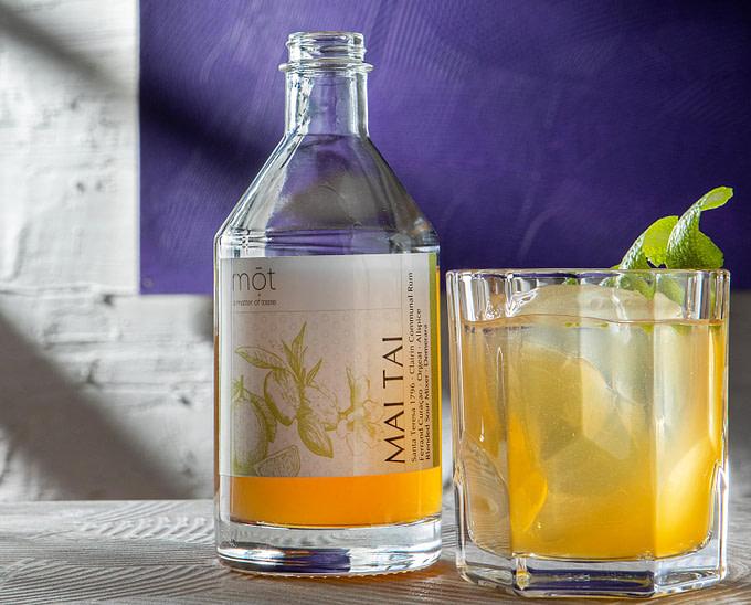 Mai Tai der Tiki Klassiker mit Clairin Rum als Fertigcocktail aus der Flasche