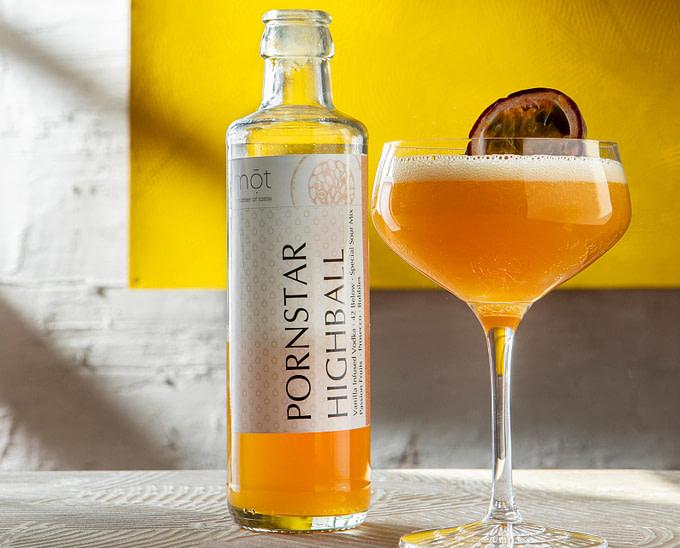 Pornstar Highball, trinkfertiger Cocktail aus der Flasche