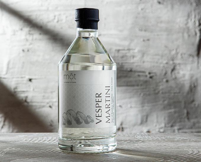 Vesper Martini - der Lieblingscocktail James Bonds als Bottled Drink