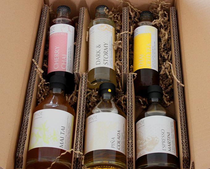 Das Cocktails@home Carepaket mit Ready to Drink Cocktails