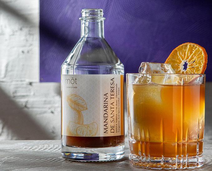 Santa Teresa Rum Punch: Mandarina de Santa Teresa