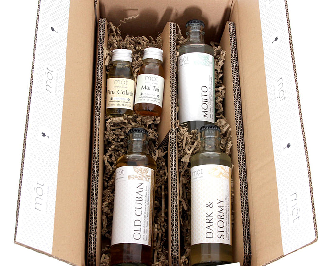 Rum Lovers Cocktail Box