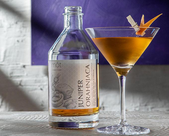 Der Juniper Orahnjaca Cocktail, Kroatien in der Flasche
