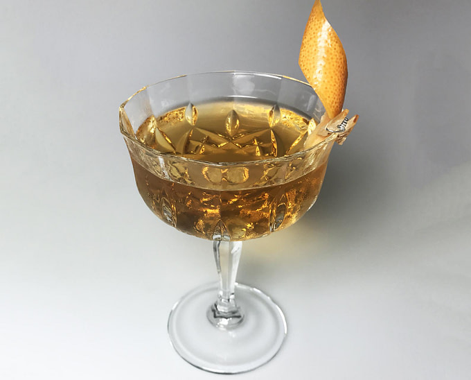 Der Juniper Orahnjaca Cocktail im Glas bei TUI BLUE Jadran