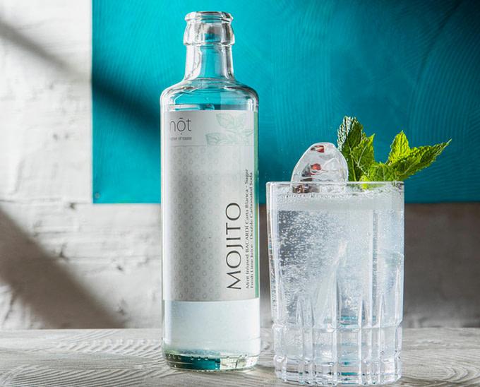 Bottled Cocktails > der Mojito mit Premium Rum und Minz-Infusion