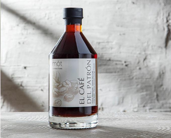 Bottled Cocktail mit Cold Brew Coffee und 100% Agave Tequila von Patrón