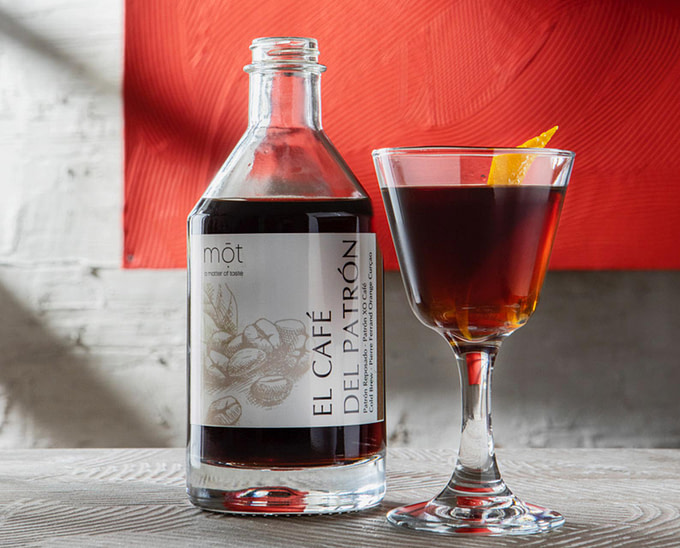 Servierfertiger Cocktail perfekt zum Dessert