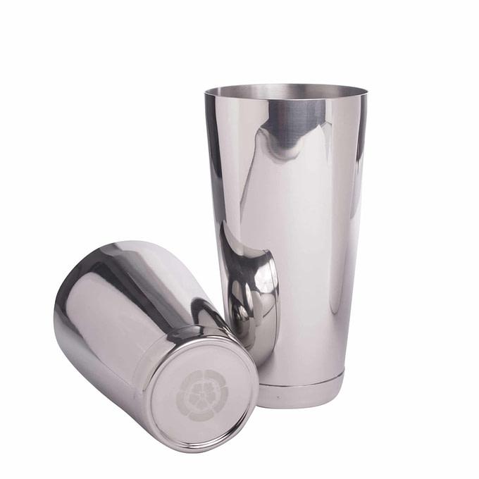 Tin Tin Shaker in Silber Optik
